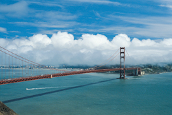 Ein Foto mit dem Titel: Golden Gate Bridge San Francisco ©Visit California